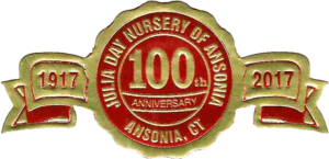 Julia Day Nursery 100th Anniversary Emblem