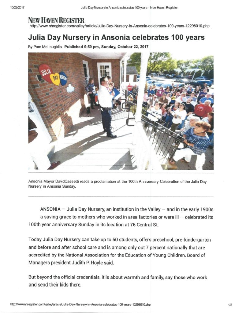 100 Year Celebration …A Big THANK YOU to all who attended